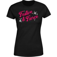 Festive & Fierce Women's T-Shirt - Black - 5XL - Black