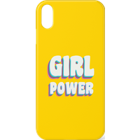 Feminist Girl Power Phone Case for iPhone and Android - iPhone XS - Snap Case - Matte