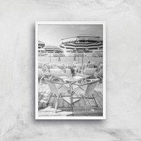 Permettez Moi Giclee Art Print - A4 - White Frame