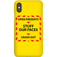 Christmas Government Guidelines Phone Case for iPhone and Android - iPhone XS - Snap Case - Matte