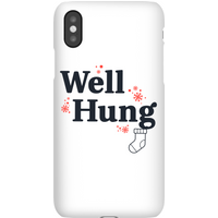 Well Hung Phone Case for iPhone and Android - iPhone XR - Snap Case - Matte