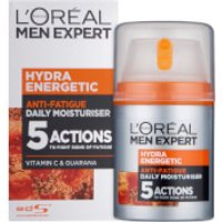 L'Oreal Men Expert Hydra Energetic Daily Anti-Fatigue Moisturising Lotion (50ml)