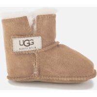 UGG Babies' Erin Logo Sheepskin Boots - Chestnut - XS