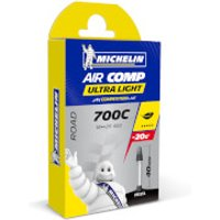 Michelin A1 Aircomp Ultralight Road Inner Tube - 700c x 22-23mm - Presta 80mm