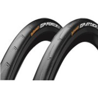 Continental GP Attack III and Force III Clincher Road Tyres - 700c x 23-25mm