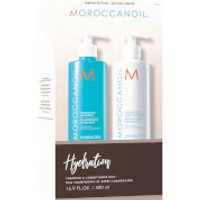 Moroccanoil Hydrating Shampoo & Conditioner Duo (2x500ml) (Worth PS69.40)