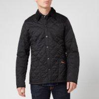 Barbour Mens Heritage Liddesdale Quilt Jacket - Black - XS