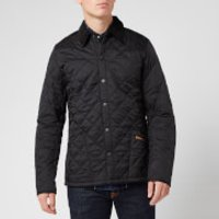 Barbour Men's Heritage Liddesdale Quilt Jacket - Black - XXL