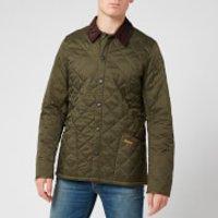 Barbour Mens Heritage Liddesdale Quilt Jacket - Olive - M