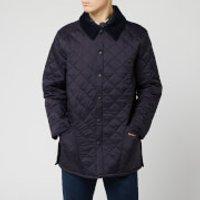 Barbour Men's Liddesdale Quilt Jacket - Navy - S