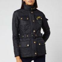 Barbour International Women's Polarquilt Jacket - Black - UK 16