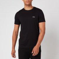 BOSS Hugo Boss Men's Basic Crew Shoulder Logo T-Shirt - Black - XXL