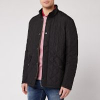 Barbour Heritage Mens Chelsea Sportsquilt Jacket - Black - L