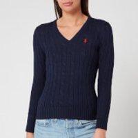 Polo Ralph Lauren Women's Kimberly Jumper - Hunter Navy - M/UK 10 - Blue