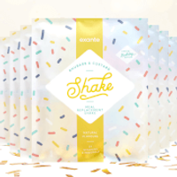 Meal Replacement Rhubarb & Custard Flavour Shake Box of 7