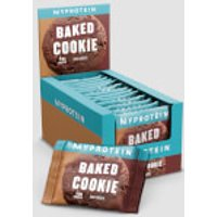 Myprotein Baked Cookie, 12 x 75g - Chocolate