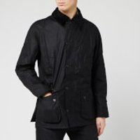 Barbour Heritage Mens Ashby Waxed Jacket - Black - XXL