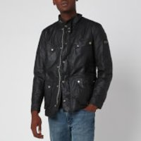 Barbour International Mens Duke Wax Jacket - Sage - M