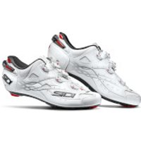 Sidi Shot Carbon Road Shoes - White - EU 43/UK 7.5 - White