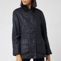 Barbour Womens Beadnell Wax Jacket - Navy - UK 8