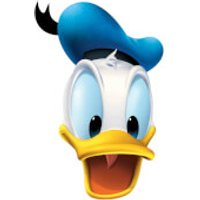 Disney Donald Duck Mask - Duck Gifts