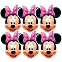 Disney Mickey Mouse Minnie Mask Pack - 6 Pack