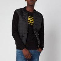Barbour International Men's Baffle Zip Through Jacket - Black - L - Black