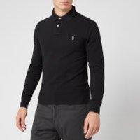 Polo Ralph Lauren Men's Slim Fit Long Sleeve Polo Shirt - Polo Black - M