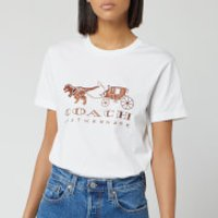 Coach 1941 Women's Rexy and Carriage T-Shirt - White - XS