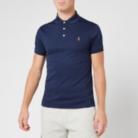 Polo Ralph Lauren Men's Slim Fit Pima Polo Shirt - Navy - XL