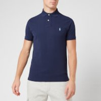 Polo Ralph Lauren Men's Slim Fit Short Sleeved Polo Shirt - Newport Navy - XXL