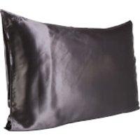 Slip Silk Pillowcase - Queen (Various Colours) - Charcoal
