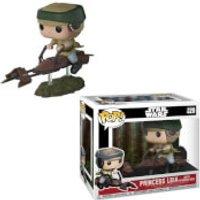 Star Wars Leia on Speeder Bike Pop! Deluxe Figure - Bike Gifts