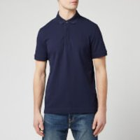 Lacoste Mens Short Sleeve Paris Polo Shirt - Navy - 3/S