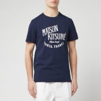 Maison Kitsune Men's Palais Royal T-Shirt - Navy - L