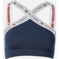 Tommy Hilfiger Women's Authentic X Bralette - Navy Blazer - L