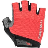 Castelli Entrata Gloves - XL - Red