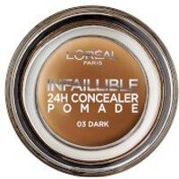 L'Oreal Paris Infallible Concealer Pomade 15g (Various Shades) - 03 Dark