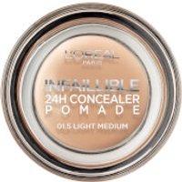 L'Oreal Paris Infallible Concealer Pomade 15g (Various Shades) - 1.5 Light Medium