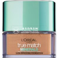 L'Oreal Paris True Match Minerals Foundation 10g (Various Shades) - 6.5D Gold Caramel