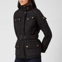 Barbour International Womens Tourer Polarquilt Jacket - Black - UK 12