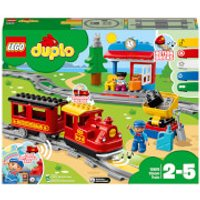 LEGO DUPLO My Town Steam Train Set with Action Bricks (10874)