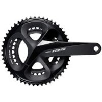 Shimano 105 R7000 Chainset - 53/39 - 172.5mm - Black