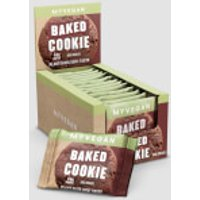 Vegan Baked Cookie - 12 x 75g - Double Chocolate