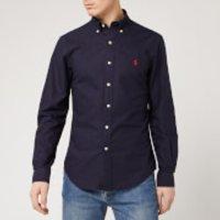 Polo Ralph Lauren Men's Oxford Shirt - RL Navy - S - Navy