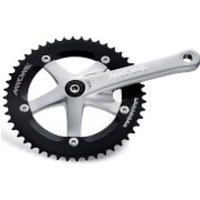 Miche Primato Advanced Track Chainset - Silver - 165mm - 48T - Silver