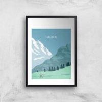 Algau Art Print - A4 - No Hanger