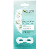 Garnier Hyaluronic Acid and Coconut Water Hydrating Replumping Eye Sheet Mask 6g