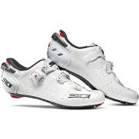 Sidi Wire 2 Carbon Road Shoes - White/White - EU 43 - White/White