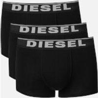 Diesel Men's Damien Three Pack Boxer Shorts - Black - XL